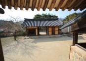 김세기가옥 마당